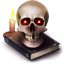 http://icons.iconarchive.com/icons/yellowicon/halloween/64/Skull-icon.png