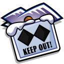 Folder Keep Out icon