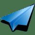 Paper-plane icon