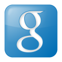 Social-google-box-blue icon