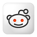 social reddit box icon