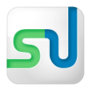 Social-stumbleupon-box-white icon