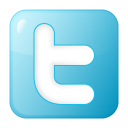 Social-twitter-box-blue icon