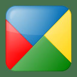 Social google buzz box icon
