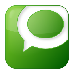 Social technorati box green icon