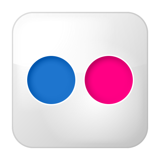 Social-flickr-box icon