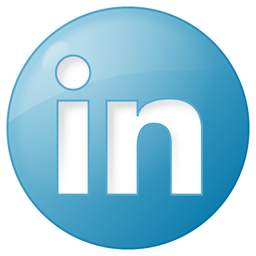 Image Gallery linkedin circle logo