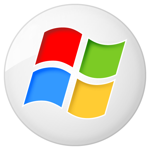 social windows button icon
