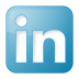 Social-linkedin-box-blue icon