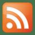 Social-rss-box-orange icon