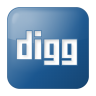Social-digg-box-blue icon