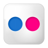 Social-flickr-box icon