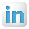 Social-linkedin-box-white icon