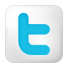 Social-twitter-box-white icon