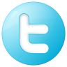 Social-twitter-button-blue icon