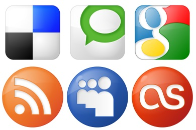 Best Social Bookmark Icons