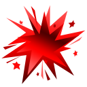fireworks red icon