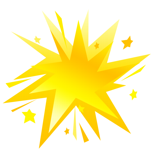 Fireworks-yellow icon