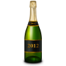 Champagne-bottle icon