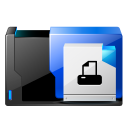 folder printer fax icon