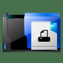 folder printer fax icon
