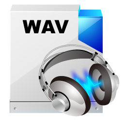 filetype wav sound icon
