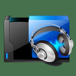 Folder music share Icon | Transformers Iconset | ypf