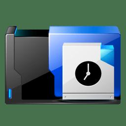 Folder scheduled tasks icon