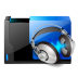 Folder-music-share icon