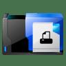 Folder-printer-fax icon