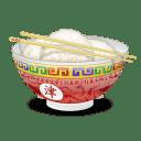 Bol de riz plein 2 icon