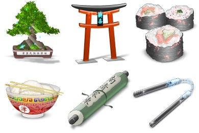 Japanicons Icons