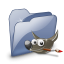 Folder Dossier Gimp SZ icon