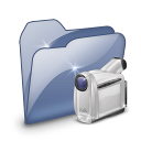 Folder Dossier Videos SZ icon
