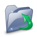 Folder Downloads SZ icon