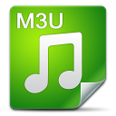 Filetype m3u icon
