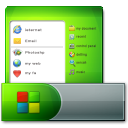 http://icons.iconarchive.com/icons/zerode/plump/128/Taskbar-Start-Menu-icon.png