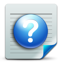 Document help icon