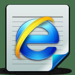 Document html icon