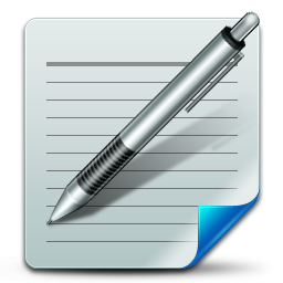 Document write iconWriting Icon Png