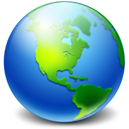 Network Earth icon