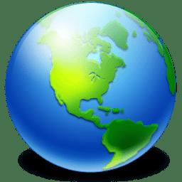 Network Earth icon