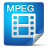 Filetype mpeg icon