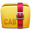 Folder-Archive-cab icon