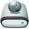 Drive-Network-offline icon