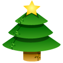 crhistmass tree icon