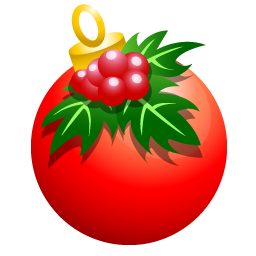 Crhistmass ball icon