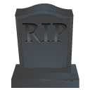 RIP stone icon