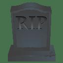 RIP stone icon