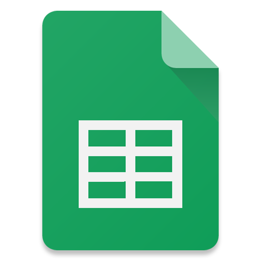 Filetype-Sheets icon